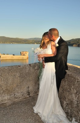 A regal wedding, in Portoferraio
